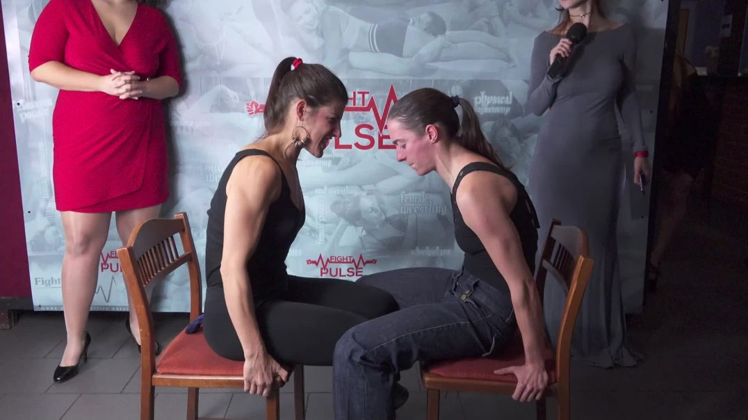 Live event contests - arm wrestling and leg-press