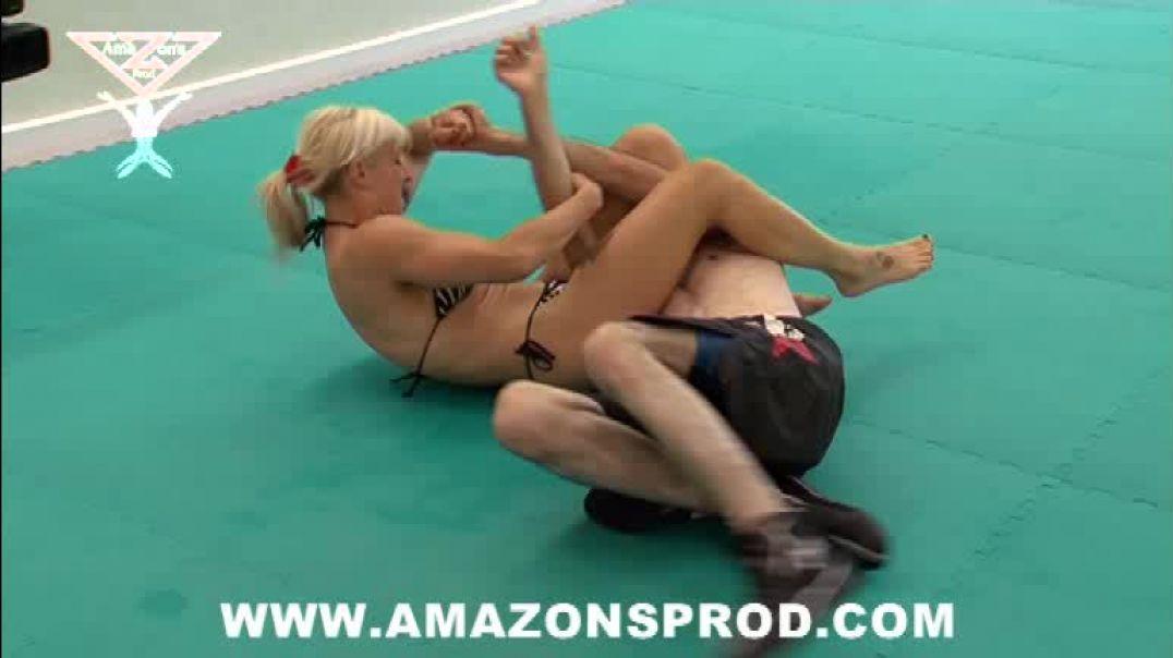 Competitive mixed wrestling 2 - AMAZON'S PROD