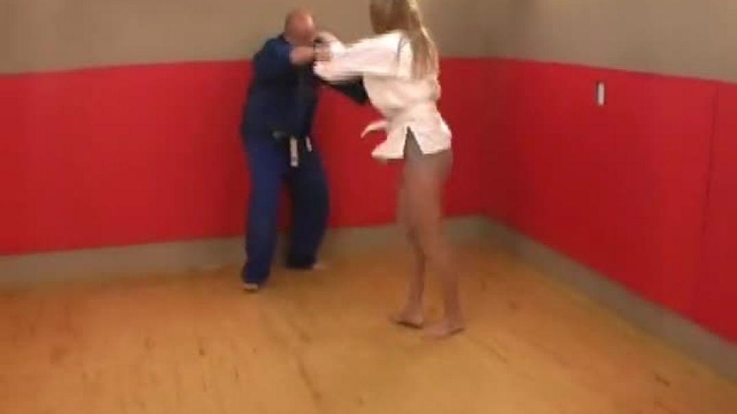 Judo - Female versus Male