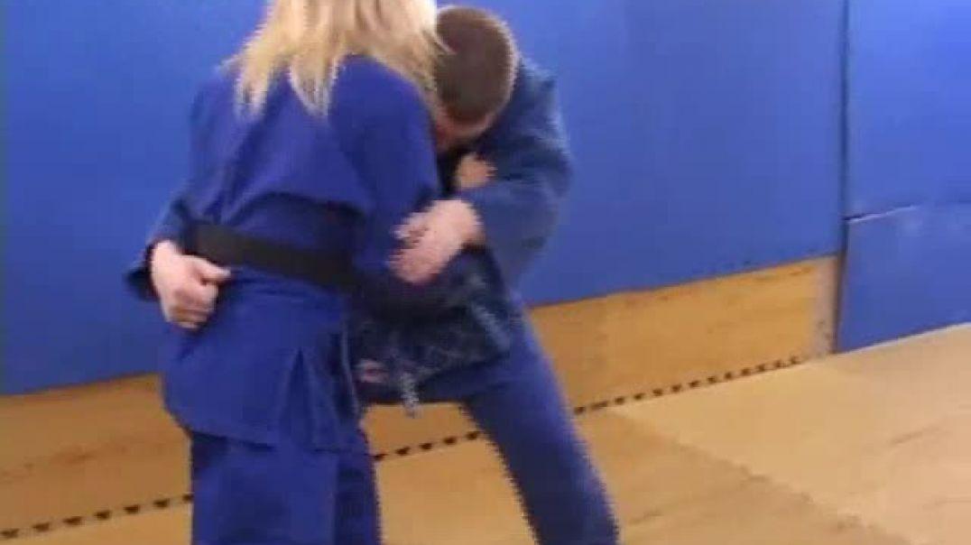 Judo - Olivia vs Joe
