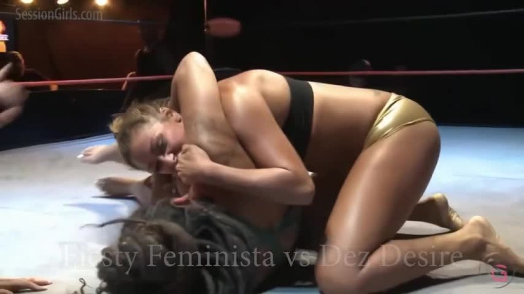 Dez Desire vs Fiesty Feminista SG2020 LIVE Clip 2
