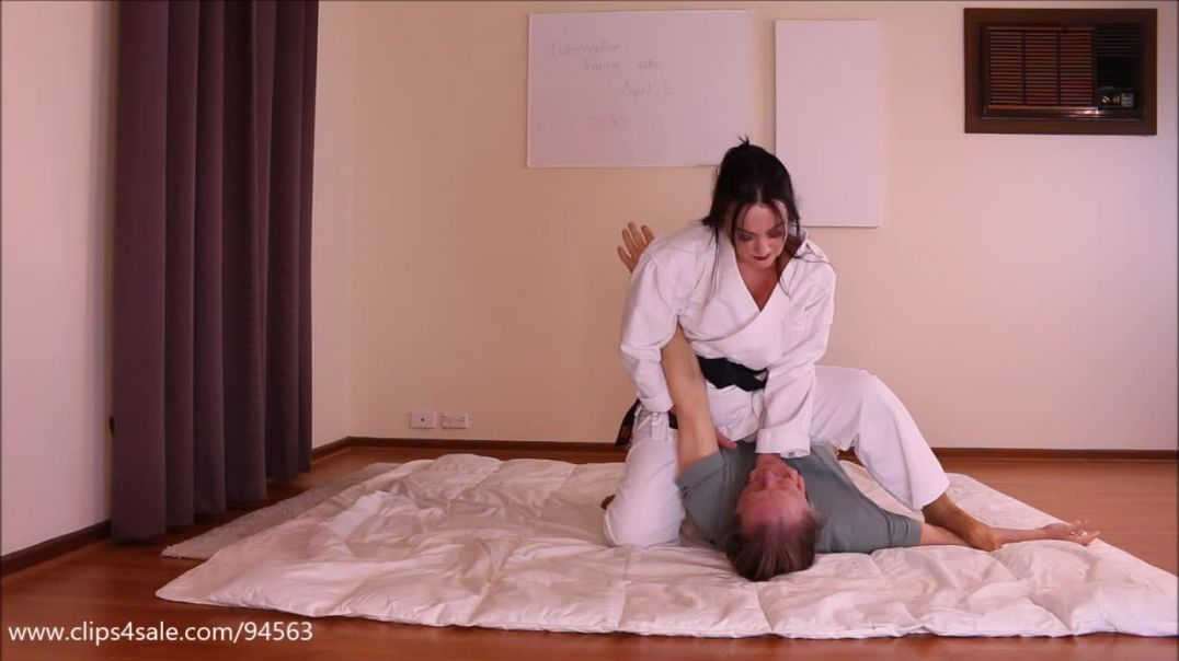 Preview of Sexy Judo Training Session