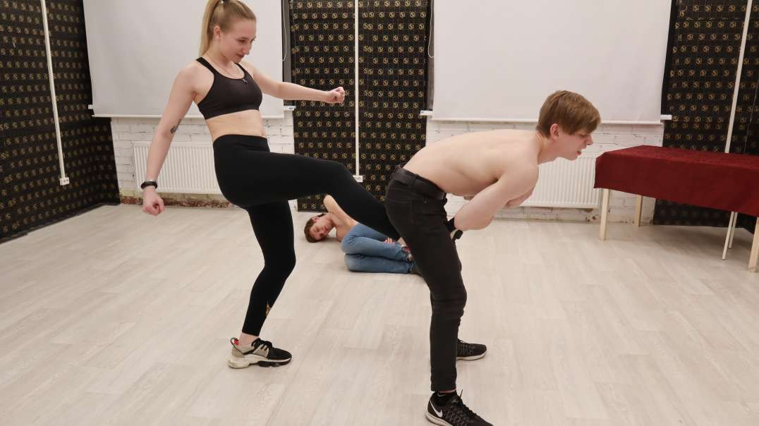 Iron balls: Tim and Nick vs Jessica