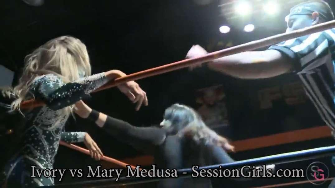 Ivory vs Mary Medusa - SessionGirls LIVE Event 2020 Clip 1