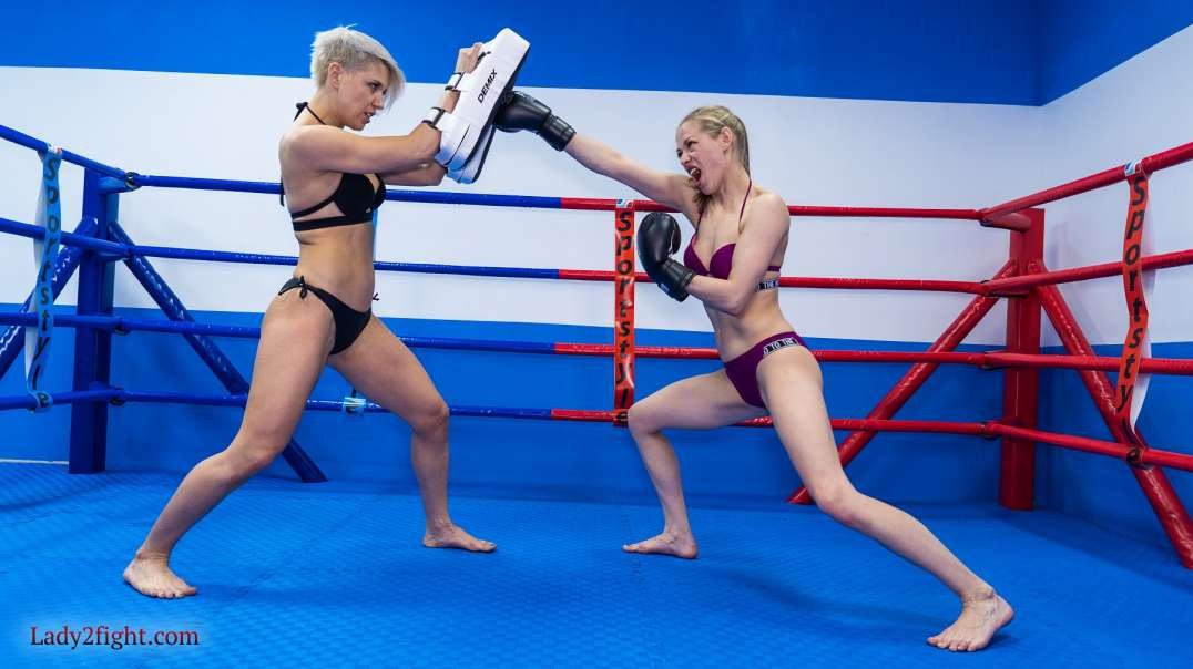 """""""Female fight"""" from Lady2fight"""