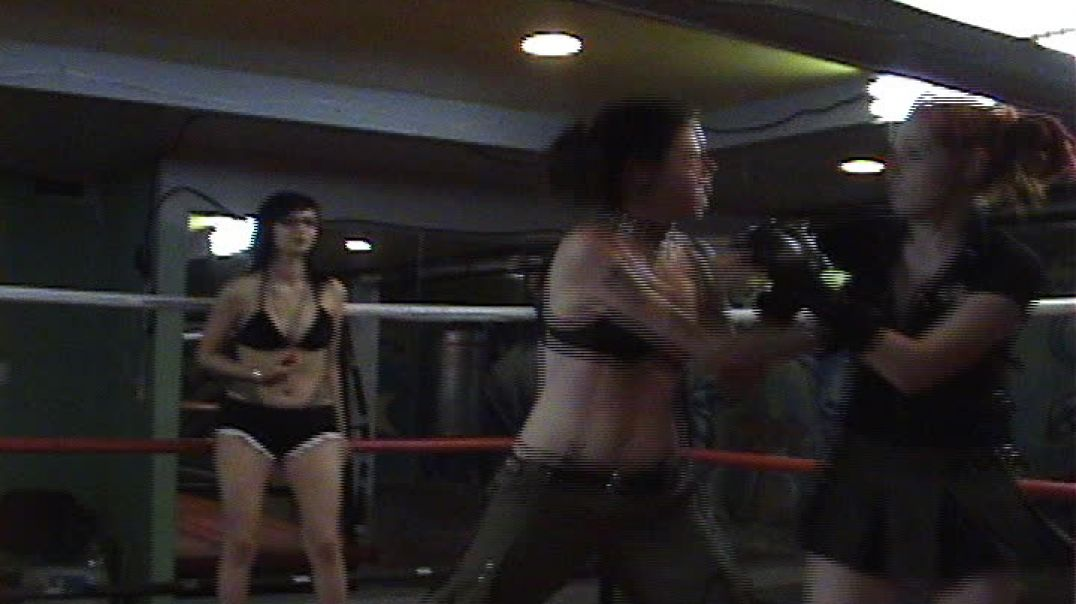 Neko vs Shannon 2006 Brawl Dolls