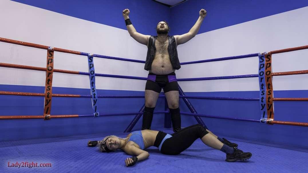 Wrestling match - Luna vs Igor
